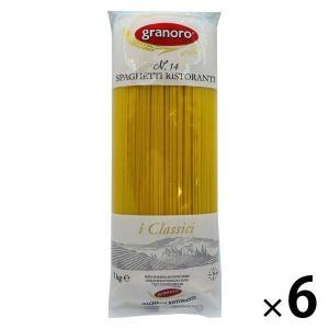 【アウトレット】グラノロ スパゲッティ リストランテ<イタリア産> 1.6mm 1kg 1セット(6袋)|LOHACO PayPayモール店