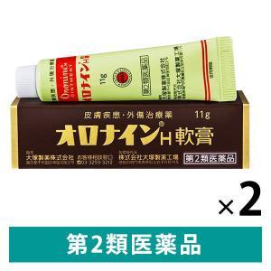 オロナイン H軟膏 11g 2箱セット 大塚製薬 第2類医薬品