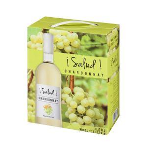 ワイン サルー シャルドネ 3L バックインボックス 白 1個|LOHACO PayPayモール店