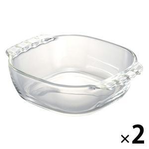HARIO(ハリオ) 耐熱グラタン皿 2個セット 新生活