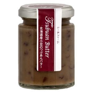 【北野エース】 ミールファーム 北海道産小豆のつぶあんバター あんこジャム 130g LOHACO PayPayモール店