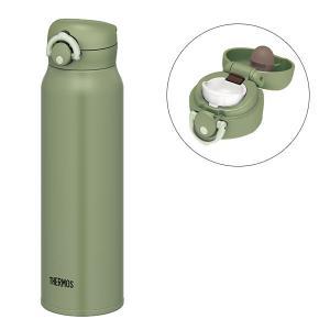 サーモス(THERMOS) 真空断熱ケータイマグ 750ml カーキ JNR-751 水筒
