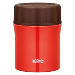 アウトレット サーモス THERMOS 真空断熱スープジャー 500ml レッド JBX-500 1...