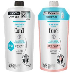 Curel(キュレル) シャンプー 詰め替え 340mL+コンディショナー 詰め替え 340mL 花...