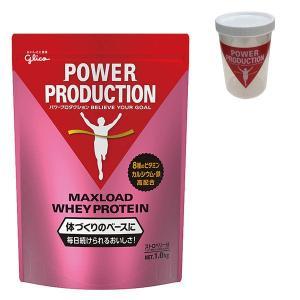 MAXLOAD(マックスロード) ホエイプロテイン ストロベリー味 1.0kg パワープロダクション...