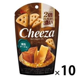江崎グリコ 生チーズのチーザ 燻製チーズ味  1セット(10個)