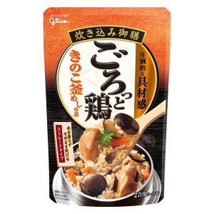 江崎グリコ 炊き込み御膳 ごろっと鶏きのこ釜めしの素 1個