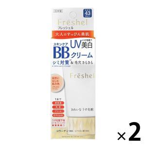 フレッシェル スキンケアBBクリーム(UV) NB(自然になじむ肌の色) 50g SPF43・PA+...