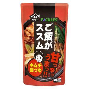 ヤマサ醤油 ご飯がススム キムチ鍋つゆ 750gパウチ 1袋
