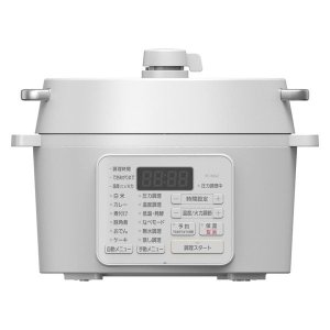 アイリスオーヤマ 電気圧力鍋 2.2L PC-MA2-W(509306) 1台