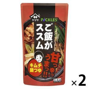 ヤマサ醤油 ご飯がススム キムチ鍋つゆ 750gパウチ 2袋