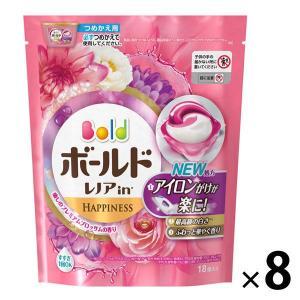 アウトレットボールドジェルボール3D 癒しのプレミアムブロッサムの香りつめかえ用 1セット(144粒:18粒入×8パック)