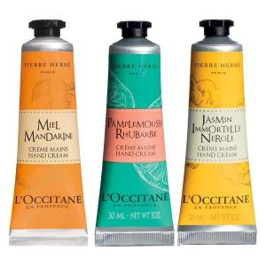 L'OCCITANE(ロクシタン)コラボレーション ハンドクリームトリオ(BOX付き)