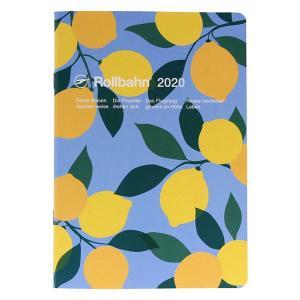 セール 2020年 手帳 ロルバーン ノートダイアリー フルーツ A5 月間(マンスリー) レモン ...