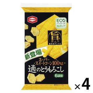 亀田製菓 通のとうもろこし 70g 4袋