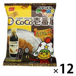 アウトレットベビースター ドデカイラーメンCoCo壱番屋カツカレー味 1セット(66g×12袋)