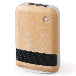 アイリスオーヤマ 人感センサー付き大風量セラミックファンヒーター 木目調 JCHM-12TD4-T