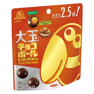森永製菓 大玉チョコボール くちどけキャラメル  1袋
