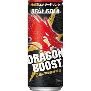 コカ・コーラ リアルゴールド ドラゴンブースト 250ml缶 1セット(6缶)