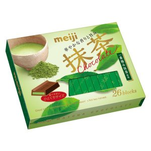 明治 抹茶チョコレートBOX 1箱