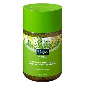 クナイプ バスソルト ローズマリー&タイムの香り 850g クナイプジャパン|LOHACO PayPayモール店