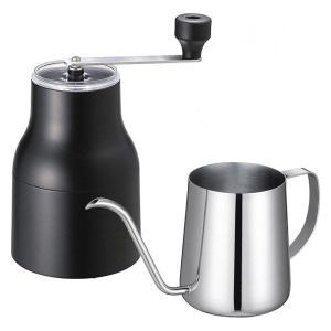 福袋  ロハコ限定 貝印 KAI コーヒーミル&ドリッパー 約1〜2杯用 + ポット 235ml セ...