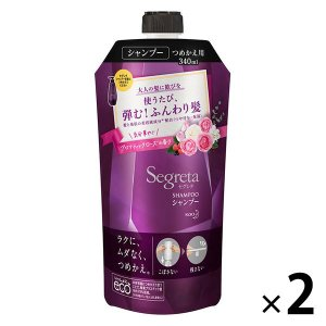 Segreta(セグレタ) シャンプー 詰め替え 340ml 2個 花王