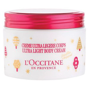 クリスマス2019  数量限定 L'OCCITANE (ロクシタン) フェスティブガーデン スノーシア ボディクリーム 200mL