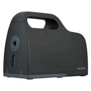 全自動充電式シャープナー PACATTO(パカット) ブラック 鉛筆削り NEK-101BK ナカバ...