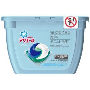 アリエール ジェルボール3D ダニよけプラス 本体 1個(16粒入) 洗濯洗剤 P&G