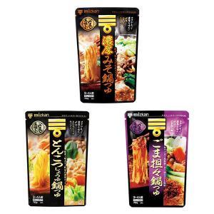 期間限定 ミツカン 〆はラーメン 鍋つゆセット