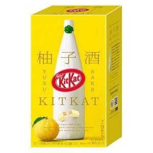 ネスレ日本 キットカット ミニ 柚子酒 9枚 1箱 チョコレートギフト バレンタイン ホワイトデー