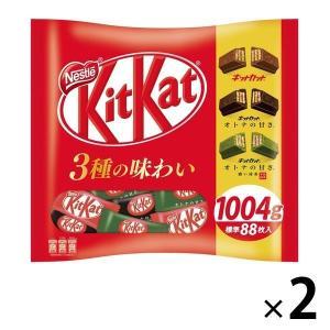 ネスレ日本 キットカット ミニ バラエティービッグバッグ 1004g 2袋 チョコレート