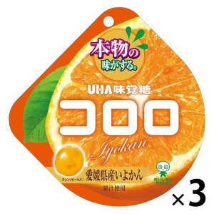 UHA味覚糖 コロロ いよかん 3個