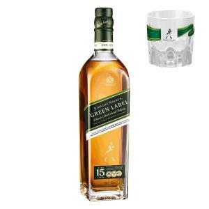 (おまけ付)(オリジナルロックグラス2個付)キリンビール ジョニーウォーカー グリーンラベル 15年...