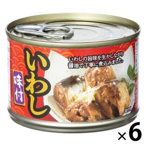 アウトレット いわし味付 150g 1セット(6缶) ネクストレード