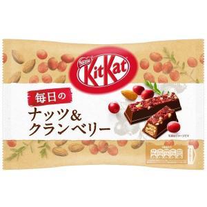 ネスレ日本 キットカット 毎日のナッツ&クランベリー 109g 2袋