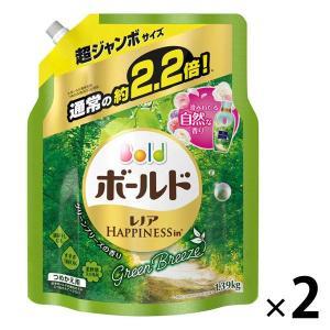 アウトレット ボールドユニセックスグリーンブリーズの香り 超ジャンボ つめかえ用1.39kg 1セット(2個:1個×2)