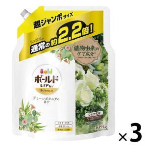 アウトレット P&G ボールドジェル グリーンボタニアの香り 詰め替え 超ジャンボサイズ 1390g 1セット(3個:1個×3)