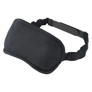 無印良品 ポリエステル携帯用アイマスク 黒・約8.5×20cm 82202816 良品計画|LOHACO PayPayモール店