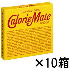 カロリーメイトブロック チョコレート味 1セット(10箱入) 大塚製薬 栄養補助食品|y-lohaco