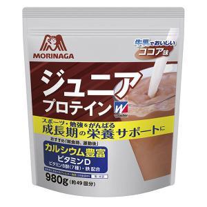 weider(ウイダー) ジュニアプロテイン ココア味 1袋(980g) 森永製菓 プロテイン|LOHACO PayPayモール店