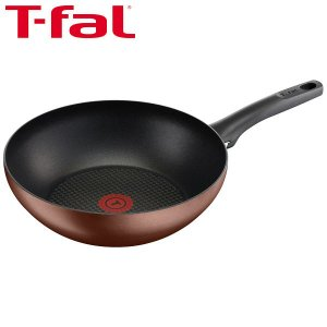 T-fal(ティファール)IH カフェモカ ウォックパン 28cm IH対応 G10919
