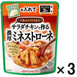 アウトレット味の素 今夜はてづくり気分 濃厚ミネストローネ 1セット(210g×3袋)|y-lohaco