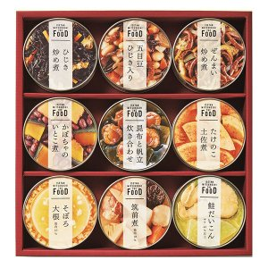 三越伊勢丹 ザ・フード 和惣菜缶詰詰合せ IWS30A 1個