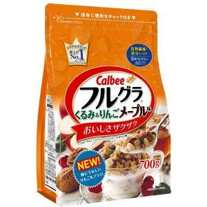 カルビー フルグラくるみ&りんごメープル味 700g 1袋|y-lohaco