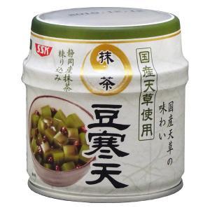 清水食品 伊豆産天草使用 抹茶豆寒天 230g 1缶