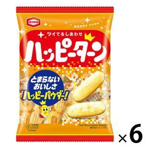 SALE 亀田製菓 ハッピーターン 108g 1セット(6袋入)