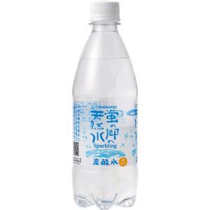 友桝飲料 蛍の郷の天然水スパークリング 500ml 1セット(6本)|LOHACO PayPayモール店