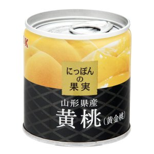 国分グループ本社 KK にっぽんの果実 山形県産 黄桃(黄金桃) 1個